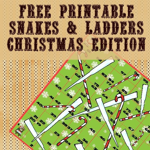 Snakes and Ladders Printables