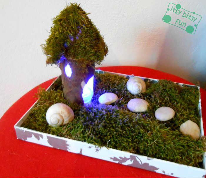 how to make fairy houses out of toilet paper rolls