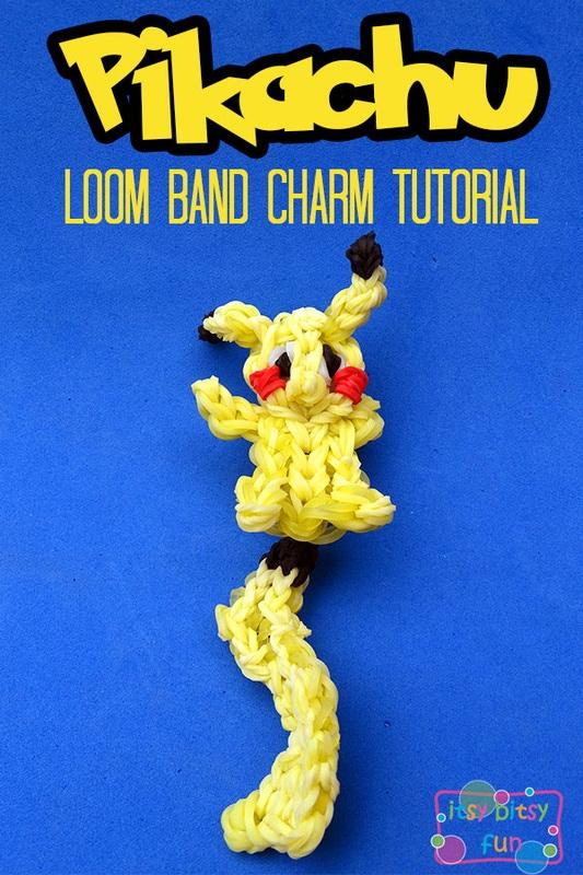Rainbow Loom Pokemon Pikachu