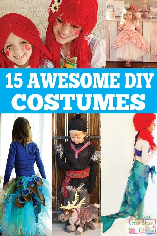 15 Awesome DIY Halloween Costumes for Kids