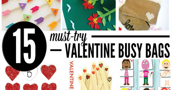 15 Must try Valentines Busy Bags
