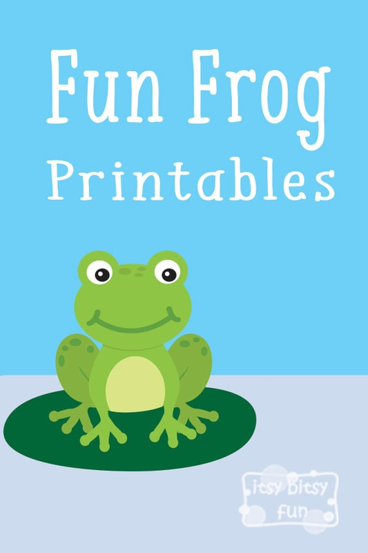 Let's Learn About Frogs - free printable