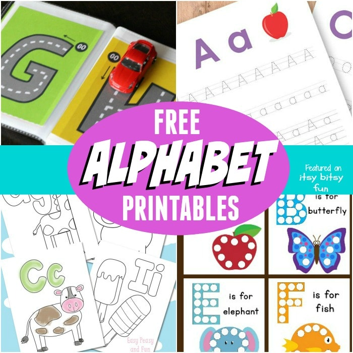 Alphabet Learning Printables