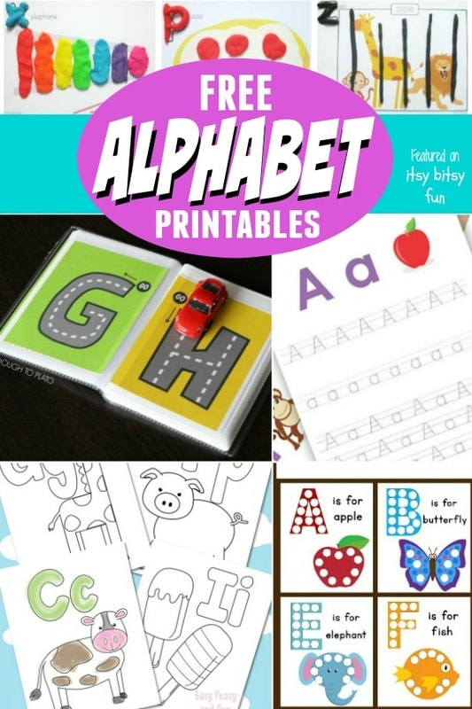 Free Alphabet Learning Printables