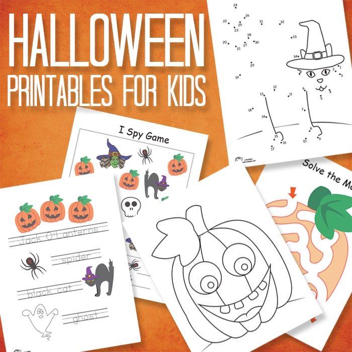 Fun and Free Halloween Printables