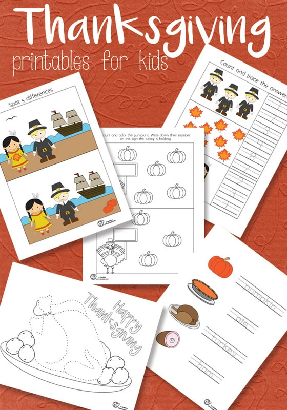 Thanksgiving Printable Pack