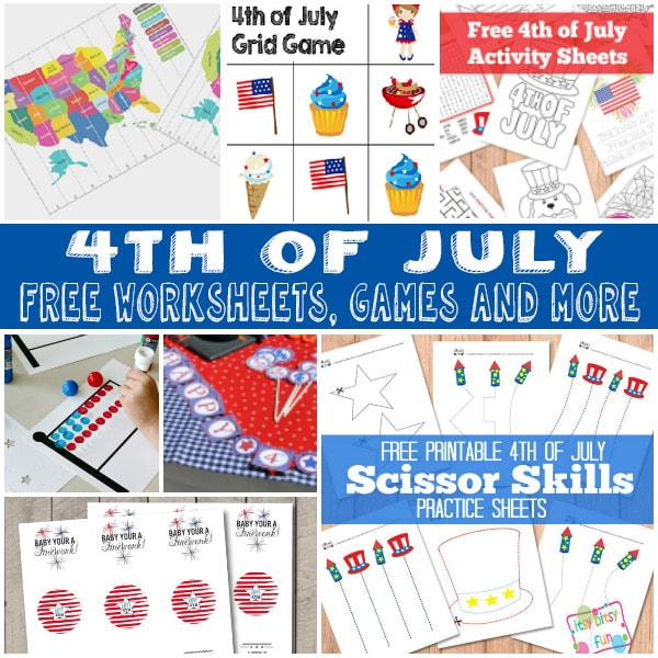 A Whole lot of Learning Fun for 4th of July