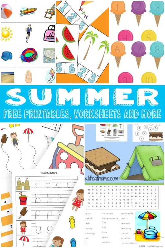 A Bunch of Summer Printables