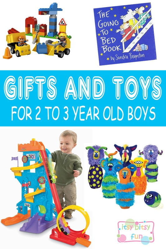 Best Gifts For 2 Year Old Boys. Lots of Ideas for 2nd Birthday, Christmas and 2 to 3 Year Olds