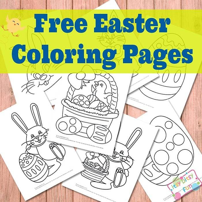 Easter Coloring Pages for Kids
