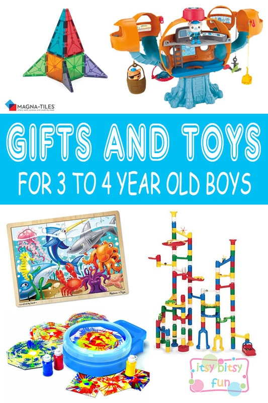 Best Gifts For 3 Year Old Boys. Lots of Ideas for 3rd Birthday, Christmas and 3 to 4 Year Olds