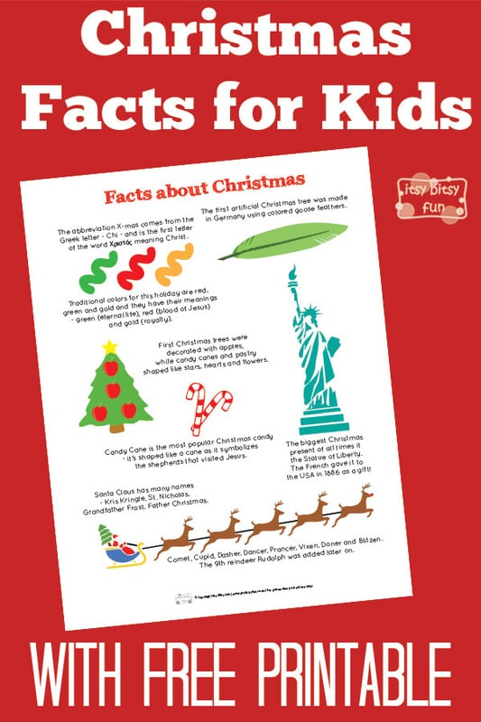 Fun Christmas Facts for Kids