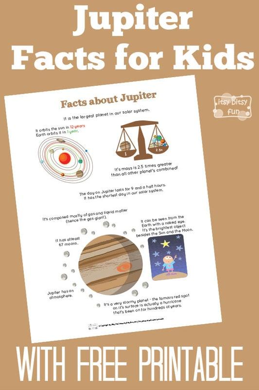 Fun Planet Jupiter Facts for Kids