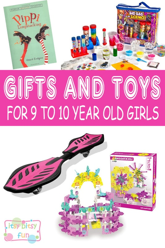 Best Gifts For 9 Year Old Girls. Lots of Ideas for 9th Birthday, Christmas and 9 to 10 Year Olds