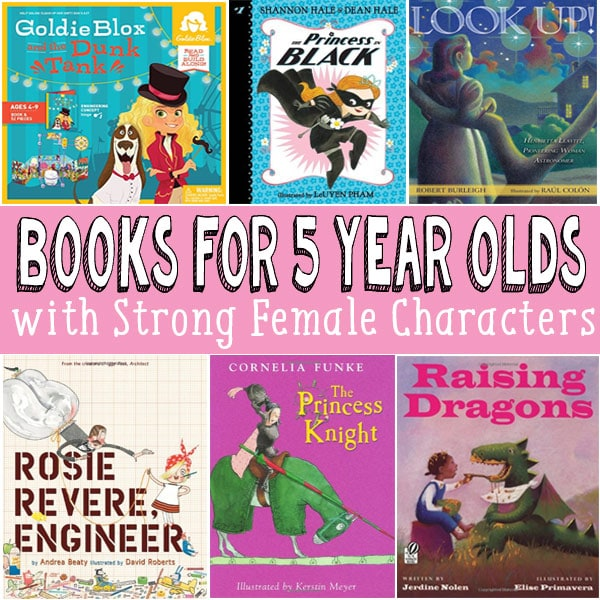 Books for 5 Year old Girls