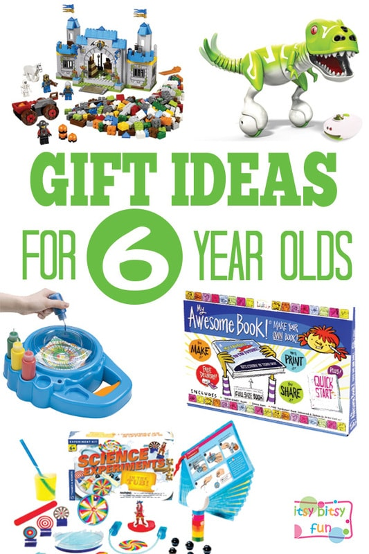 Gifts for 6 Year Olds - Christmas and Birthday Ideas