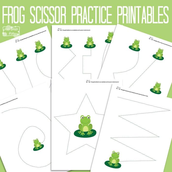 Frog Scissor Practice