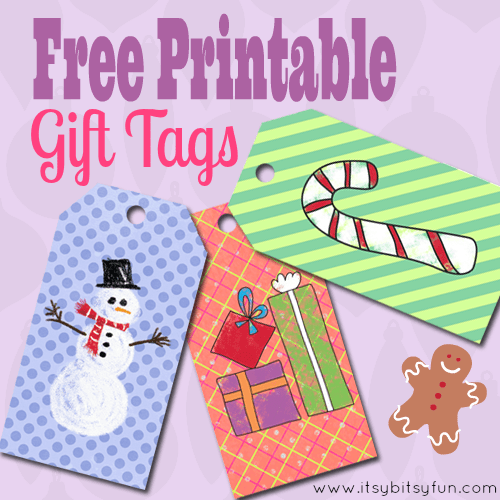 Free Printable Gift Tags for Your Prezzies!