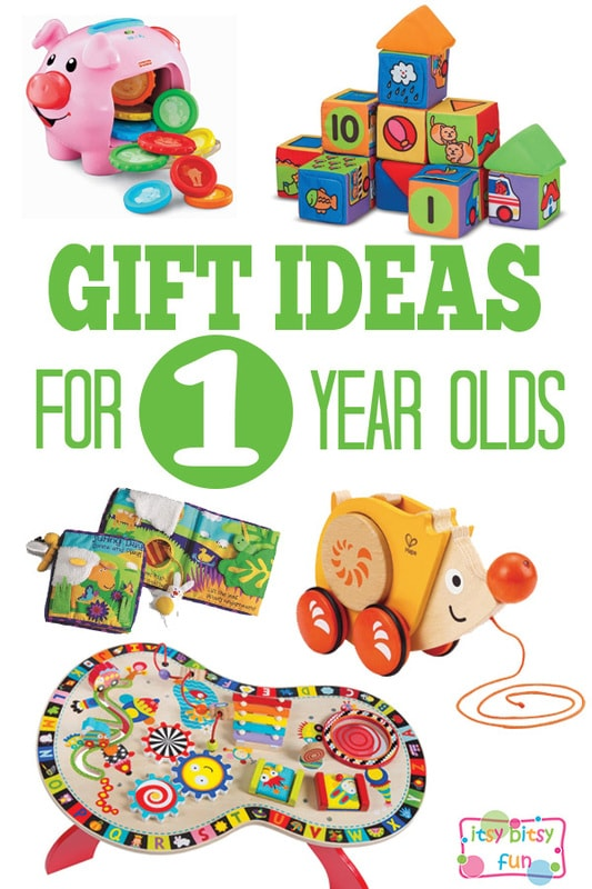 Gifts for 1 Year Olds