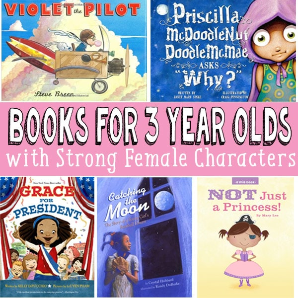 Books for 3 Year old Girls