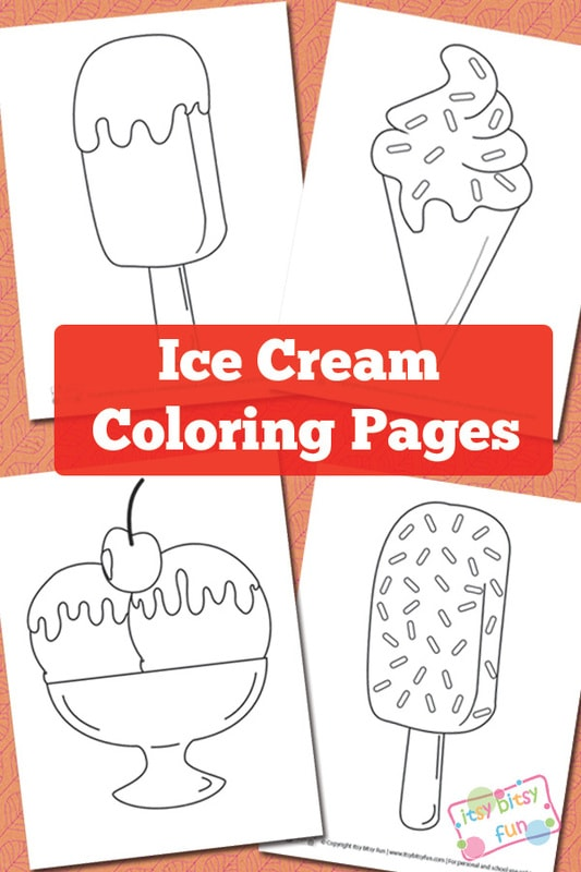 ice cream coloring pages itsy bitsy fun. Black Bedroom Furniture Sets. Home Design Ideas