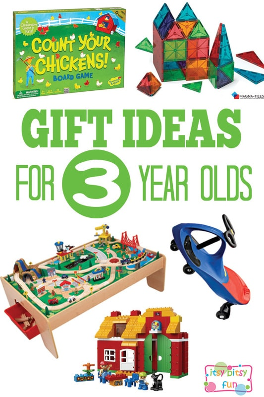 Gifts for 3 Year Olds - Christmas and Birthday Ideas