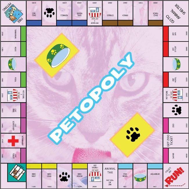 Free Printable Monopoly Like Game - Itsy Bitsy Fun