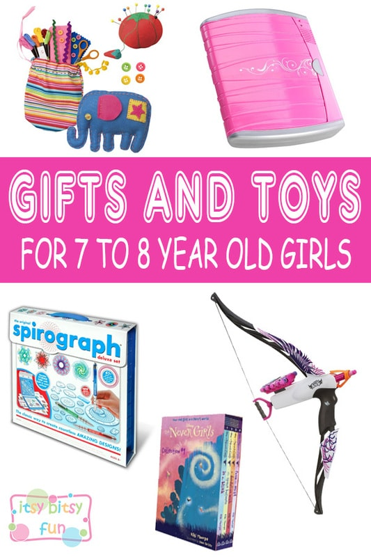 Best Gifts For 7 Year Old Girls. Lots of Ideas for 7th Birthday, Christmas and 7 to 8 Year Olds