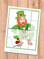 Leprechaun Puzzle Game