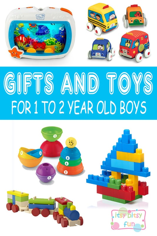 Best Gifts For 1 Year Old Boys. Lots of Ideas for 1st Birthday, Christmas and 1 to 2 Year Olds