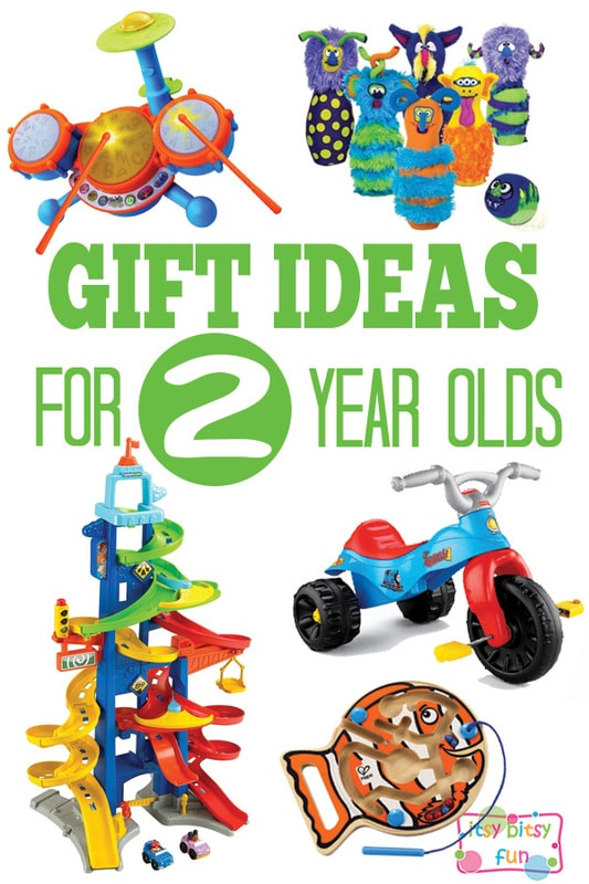 Gifts for 2 Year Olds - Christmas and Birthday
