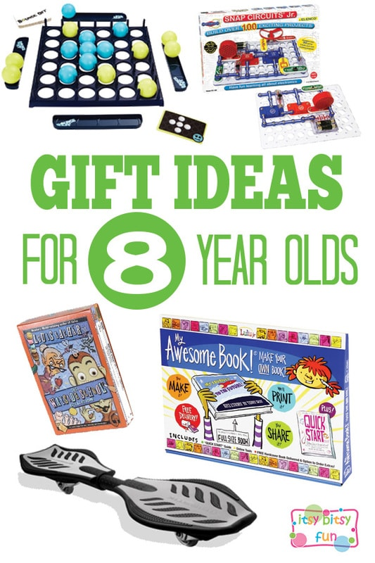 Gifts for 8 Year Olds - Christmas and Birthday Ideas