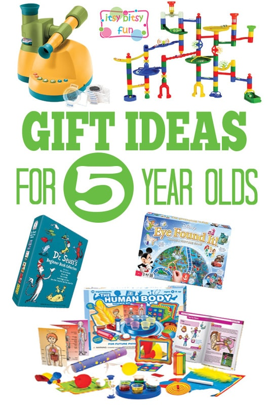 Toys For 5 : Gifts for year olds itsy bitsy fun