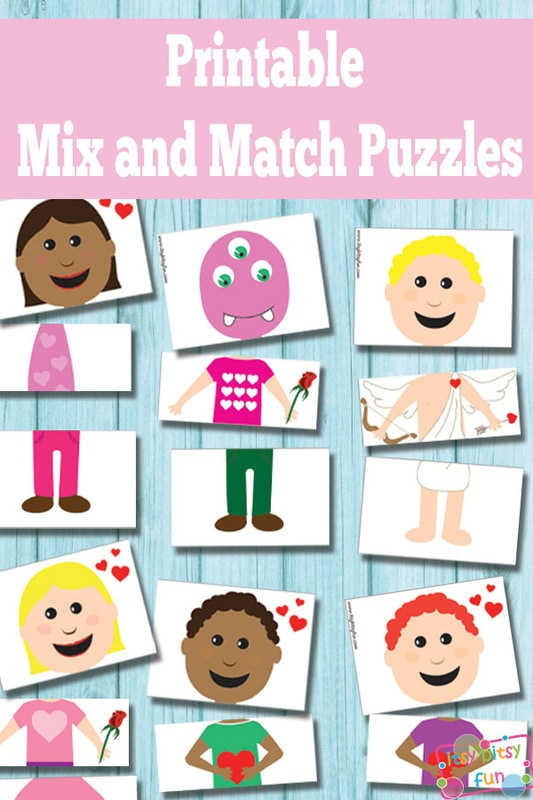 Free Printable Valentines Day Puzzles