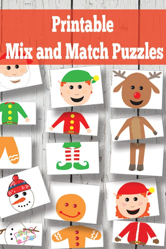 printable christmas puzzles - Holiday Printable Puzzles