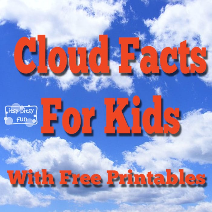 Printable Cloud Facts for Kids