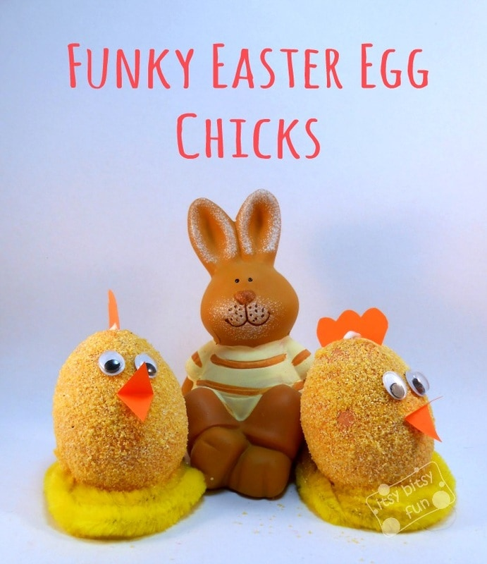 Easter Egg Craft - Little Chicken