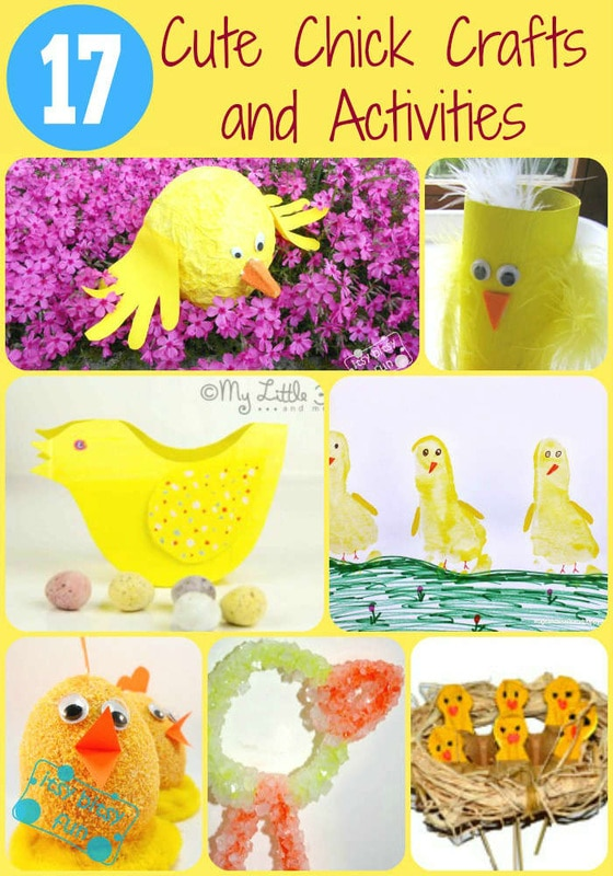 Chick crafts and activities
