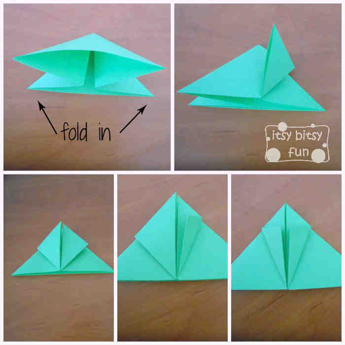 How to fold an Origami frog tutorial. Visit: http ... | 700x700