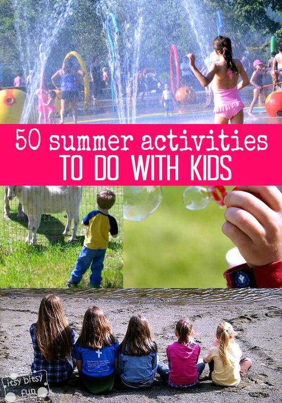 50 Summer Activities for Kids