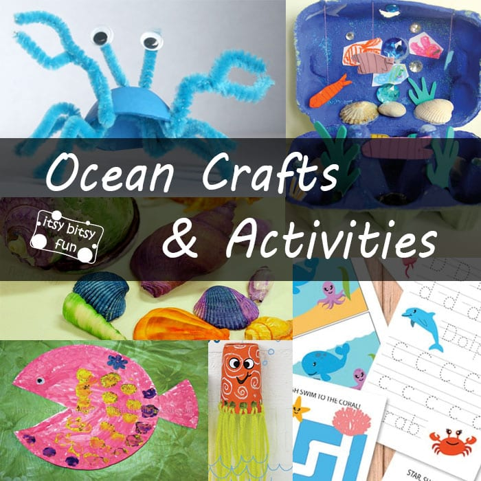 Ocean Animals Crafts and Activities for Kids