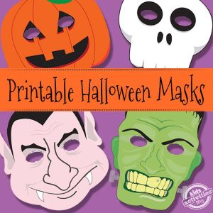picture regarding Printable Masks for Kids known as About 100 Cost-free Printable Masks for Young children - Itsy Bitsy Entertaining