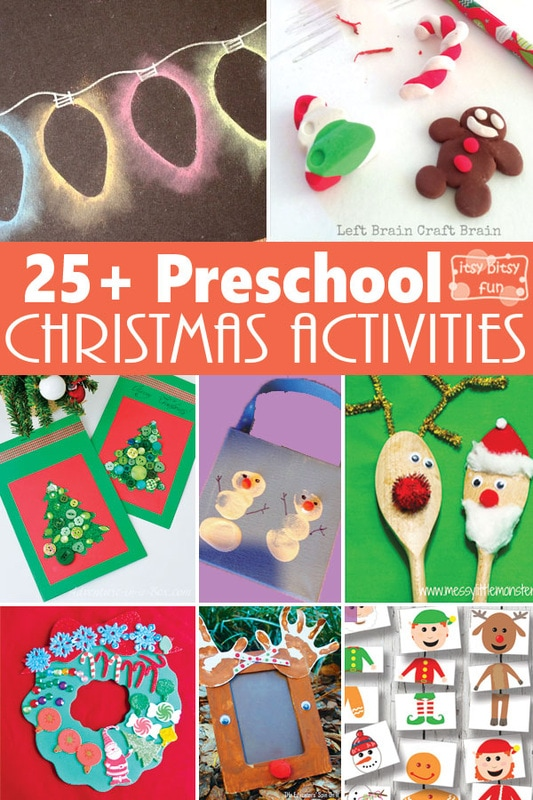 Preschool Xmas Calendar Ideas : Christmas crafts and activities for preschoolers