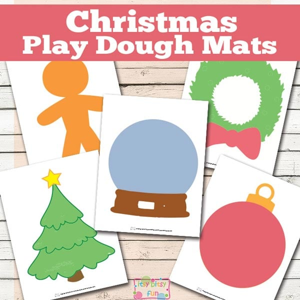 New Christmas Printables for Preschool - Itsy Bitsy Fun