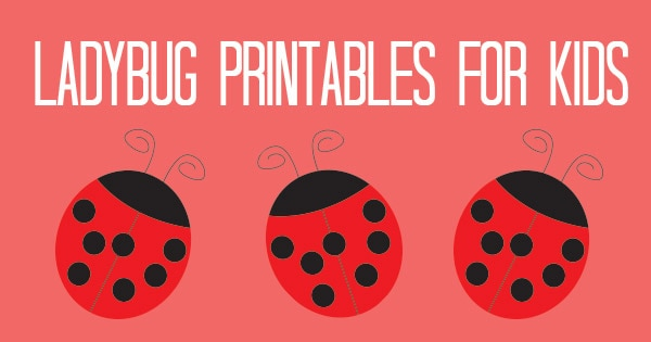 picture relating to Ladybug Template Printable named Ladybug Printables for Little ones - Itsy Bitsy Enjoyment