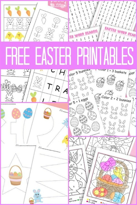 A Bunch Of Easter Free Printables