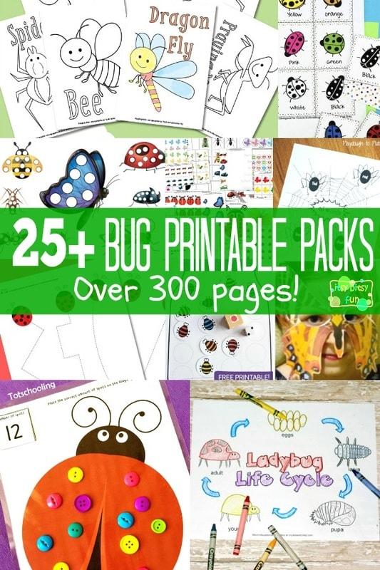Bug Free Printables for Kids
