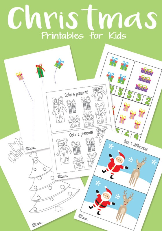 Christmas Printable Pack for Your Kids