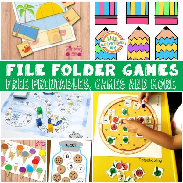 Lots of fun and free file folder games for kids itsy for Free file folder game templates