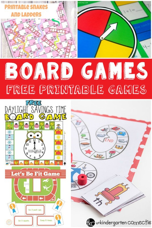 This is an image of Bright Board Game Printable